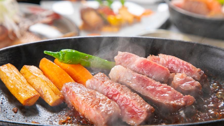 ◆黒毛和牛ステーキ会席◆