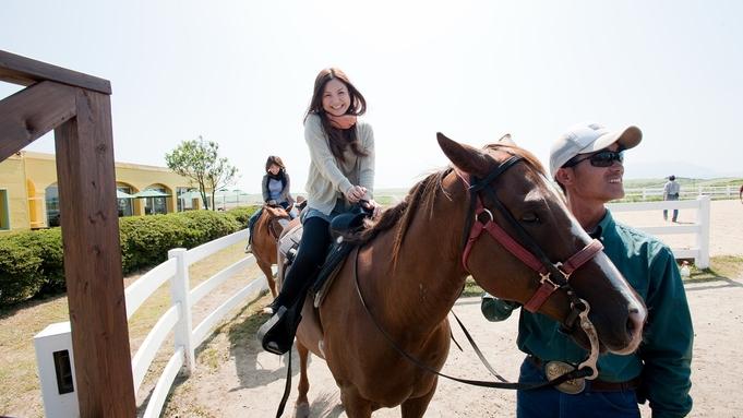 【ホーストレッキングステイプラン】☆アパッチスペシャル.【乗馬3km・スペシャルコース】