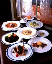 洋食ディナー例