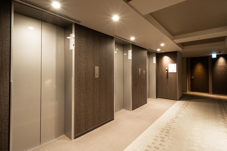 客室フロア エレベーターホール
