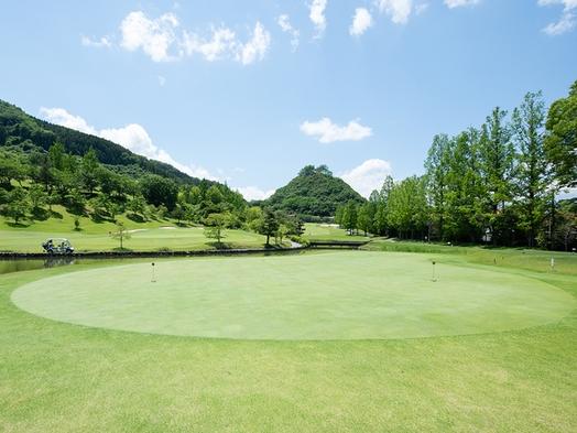 【プレー有】夕食は埼国特製弁当を客室で★全27ホールの広々とした敷地でゴルフを満喫♪(2食付)