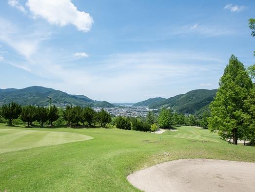 【プレー無】【5月〜9月限定】ガーデンテラスでBBQを楽しむ★自然豊かなゴルフ場隣接!(2食付)