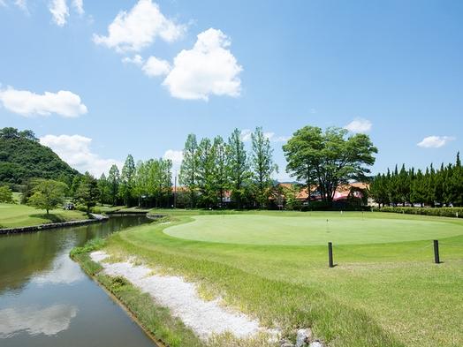 【プレー有】【5月〜9月限定】ガーデンテラスでBBQを楽しむ★広々とした敷地でゴルフを満喫(2食付)