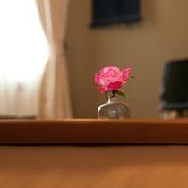 ゲストルームイメージ花
