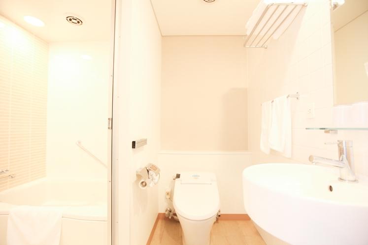 コンフォートダブルのバスルーム