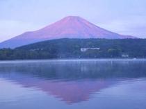 夏・赤富士