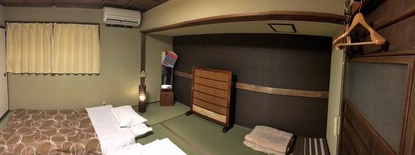 レトロな和室(7.5畳) 2階 無線LAN接続無料