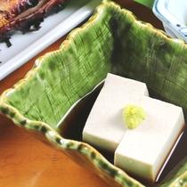 夕食単品_そば豆腐