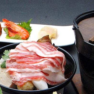 【お日にち限定お試しプランA】 お得な米の娘ぶたの陶板焼き(11月〜2月は豆乳鍋)コース☆