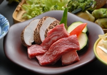 牛ステーキ一例