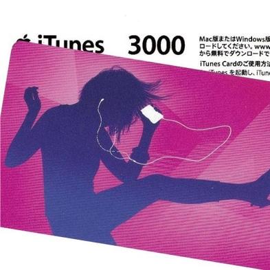 iTunes Card 3000円付プラン【音楽にアプリに使い方は自由!】[IT30]