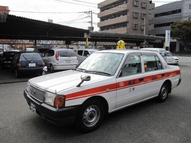 こちらのタクシーにご乗車いただけます。
