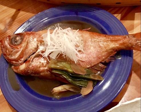 """高級ブランド金目を""""ドド〜ン""""と丸ごと一匹! 金目鯛の煮付けプラン♪"""
