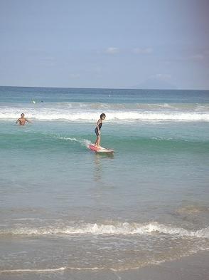 サーフィンやってみた〜い!という方一押し!! サーフィン体験レッスンプラン♪ 2食付き