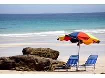 ★白浜海岸、夏