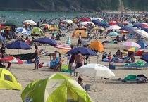 白浜海岸 夏
