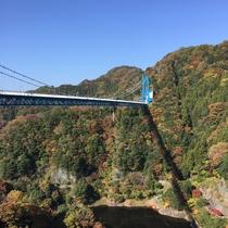 *【竜神大吊橋】当館からお車で約1時間。バンジージャンプも楽しめる観光名所です。