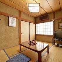 *【部屋一例/和室6畳】1人旅やビジネス利用に最適です。