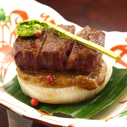 *鳳来牛ステーキ*季節により仕様が異なります