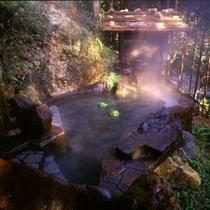 檜露天風呂〜檜の香りに包まれながら、美しい眺めをご覧ください〜