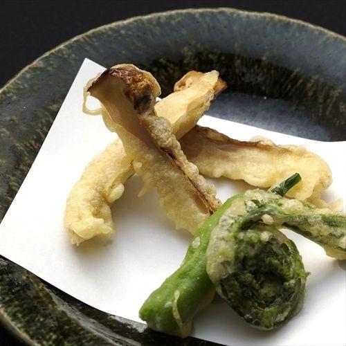 ◇松茸の天婦羅
