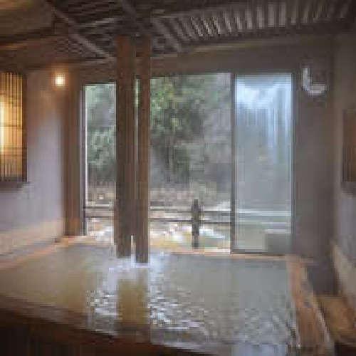 民芸ひのき風呂