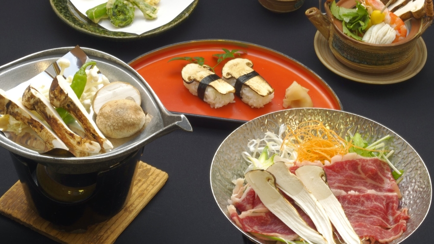 ◇秋の味覚!松茸料理を堪能!