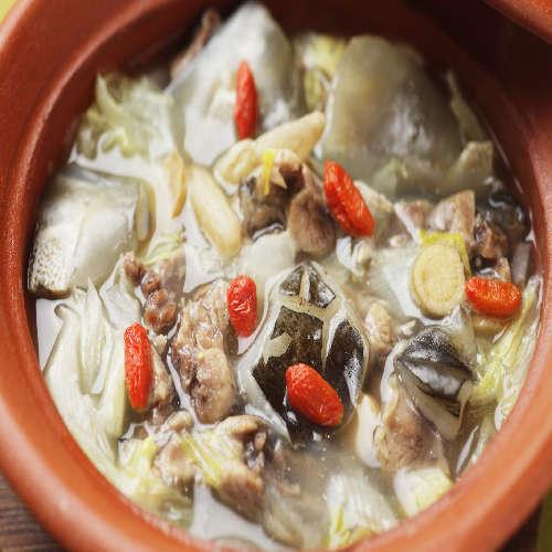 すっぽん鍋(料理一例)