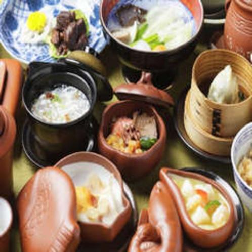 中国漢方薬膳懐石(夕食一例)