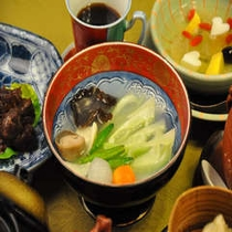 チンゲン菜炒め(料理一例)