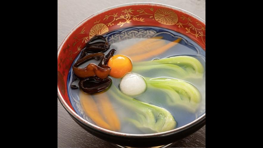 【薬膳懐石料理の一品】チンゲン菜の炒めもの