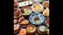 【夕食】中国漢方薬膳懐石 スタンダード(一例)