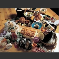 豪華特別料理の一例02