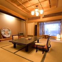 *露天風呂付き客室例