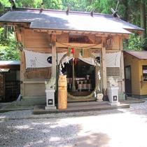 <荒立神社>縁結び、芸事の神様としても有名。