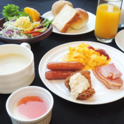 *【朝食バイキング一例】朝食は洋食派のお客様に向けたメニューもございます。