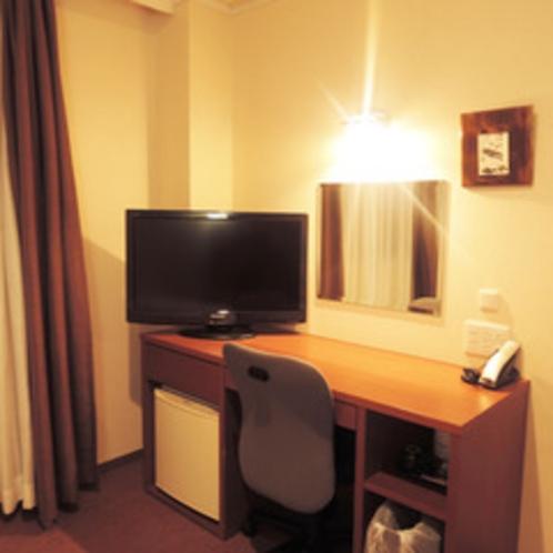 *【シングル】部屋の設備一例