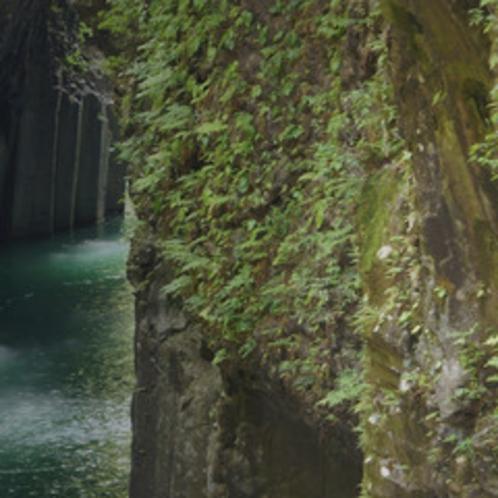 *<高千穂峡>多くの人が訪れる人気スポットです。当館より車で10分。