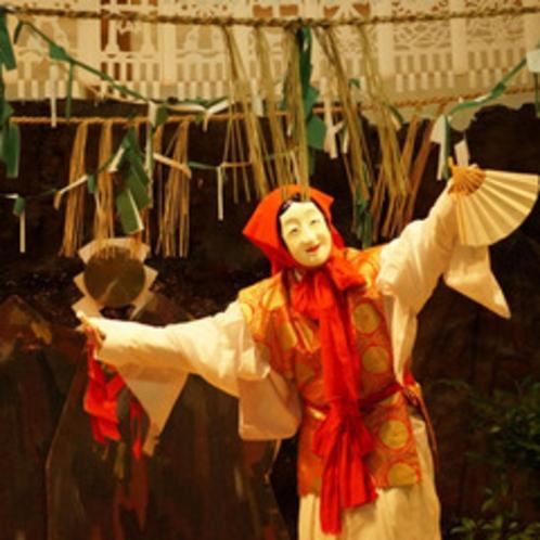 <高千穂の夜神楽>国の重要無形民俗文化財に指定されています。