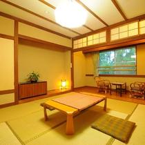 ◆本館和室【広さ29㎡・8畳・洗面トイレ付】