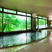 ◆大浴場 えんめいの湯【森林浴】