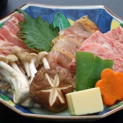 ◆とっとり☆自慢のお肉食べ比べ◆『大山豚』vs『大地のハーブ鶏』vs『鳥取和牛オレイン55』