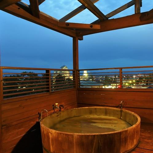 貸切露天風呂「白い月のタンゴ」