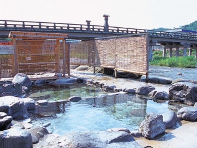 三朝温泉 河原風呂