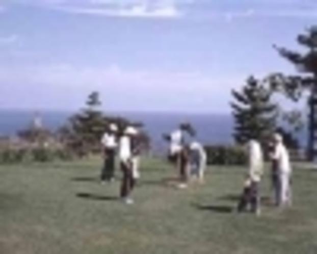 潮風の丘とまり♪グラウンドゴルフ発祥地!