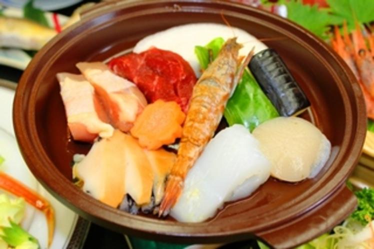 2014年夏よくばり陶板焼き(料理一例)