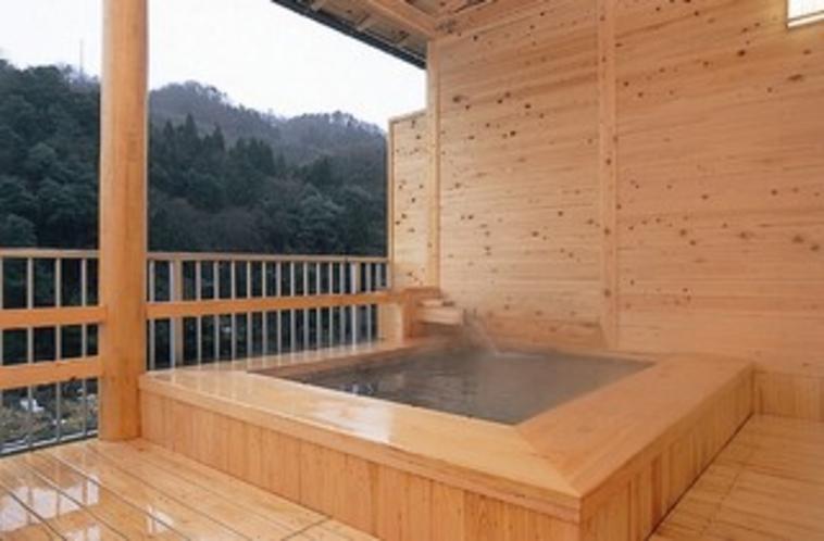 貸切露天風呂「青い山」