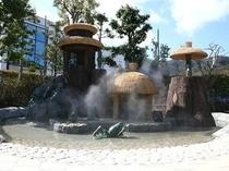 境港市 水木しげるロード 河童の泉