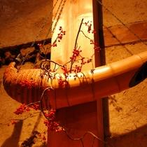100年以上前の竹花器