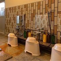 ■大浴場内風呂■大浴場にはボディーソープ・シャンプー・コンディショナーを備え付けております